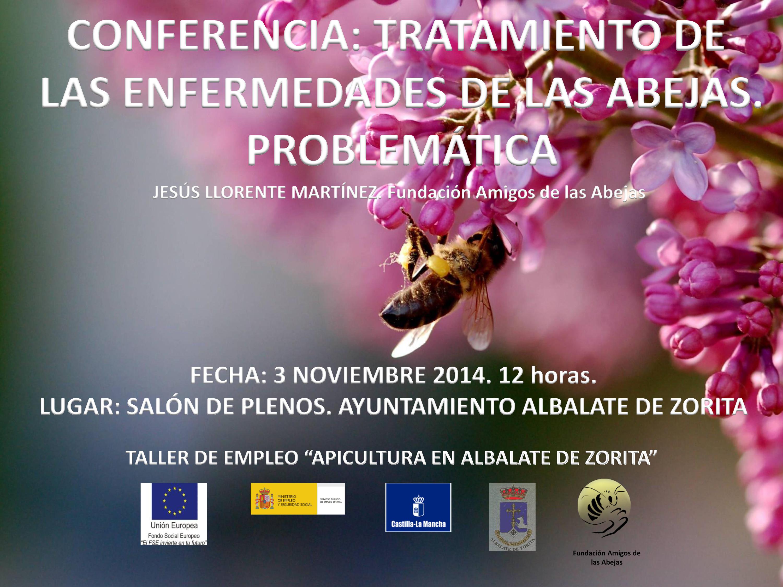 """Conferencia """"Tratamiento de las enfermedades de las Abejas ..."""
